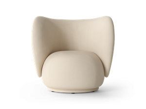Ferm Living - Rico Lounge Brushed - Off-White