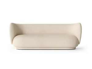 Ferm Living -  Rico 3-seater Brushed - Off-White