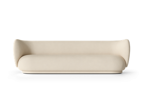 Ferm Living -  Rico 4-seater Brushed - Off-White