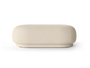 Ferm Living - Rico Ottoman Brushed - Off-White