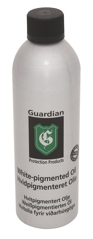 Guardian Hvidpigmenteret Olie, 400 ml