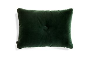 HAY - Pude - DOT CUSHION SOFT / 1 DOT DARK GREEN
