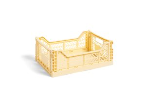HAY - KASSE - COLOUR CRATE / M LIGHT YELLOW