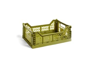 HAY - KASSE - COLOUR CRATE / M OLIVE