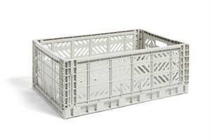 HAY - KASSE - COLOUR CRATE / L LIGHT GREY