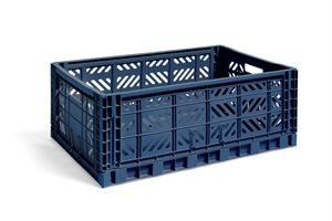 HAY - KASSE - NEW COLOUR CRATE / L NAVY
