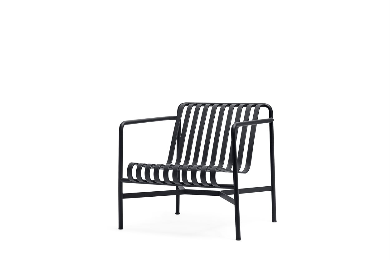 HAY HAVE LOUNGESTOL PALISSADE LOUNGE CHAIR LOW FLERE FARVER