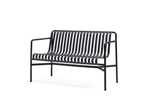HAY - HAVEBÆNK - PALISSADE DINING BENCH - ANTHRACITE