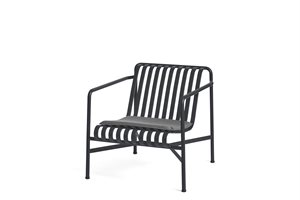 HAY - Hynde - Passer til PALISSADE LOUNGE CHAIR HIGH & LOW - SEAT CUSHION - ANTHRACITE