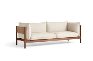 HAY - 3 pers. sofa - Arbour - HALLINGDAL 220 / OILED WAXED SOLID WALNUT