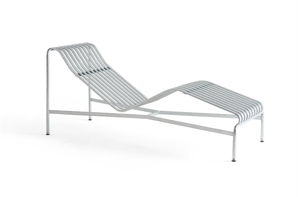 HAY -  LIGGESTOL - PALISSADE CHAISE LONGUE HOT GALVANISED