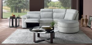 Natuzzi Editions model 757 3 per. med ottoman