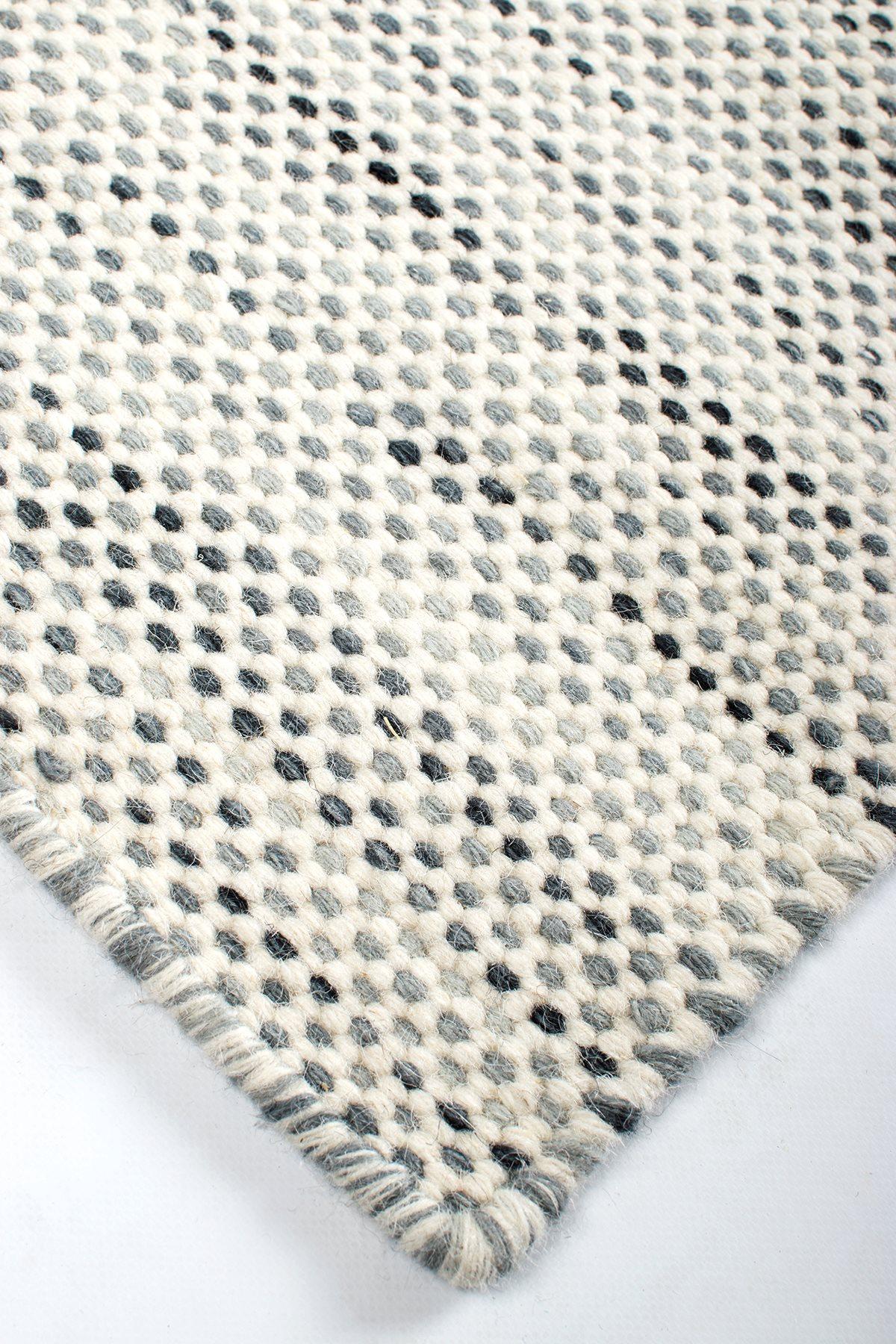 Bali Kelim Taeppe I Ivory Grey Smart Tidslost Design