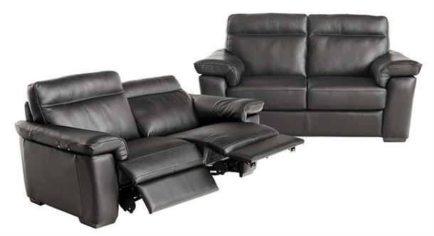 Natuzzi Editions 3+2 pers. sofa med motion