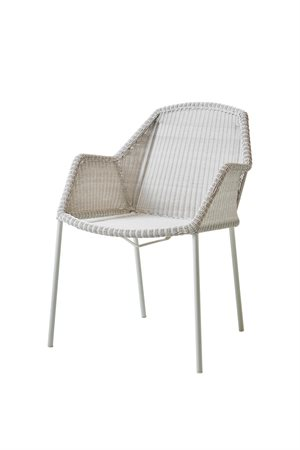 Cane-line - Havestol stabelbar - Breeze - White grey