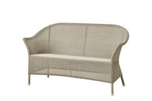 Cane-line - Lansing - 2 pers. sofa - Taupe