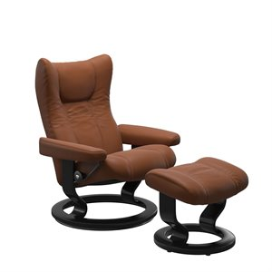 Stressless Wing Classic - Cognac