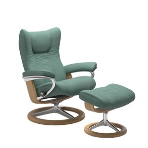 Stressless Wing Signature - Aqua Green